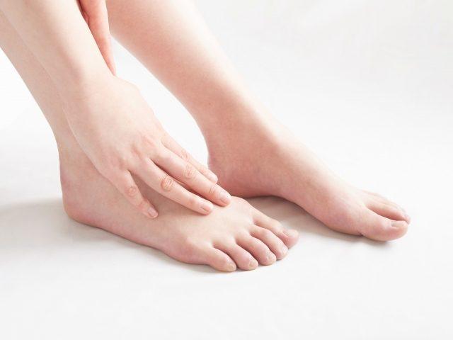 足の趾(指)に痛みが出たら…